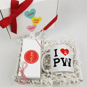 Box of PW Love with Caramels