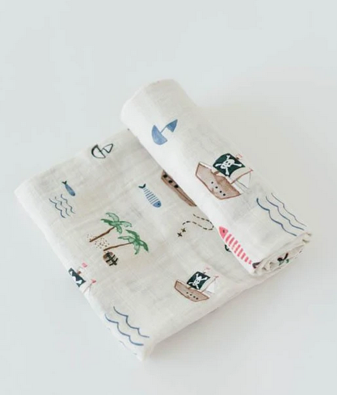 Treasure Map Swaddle