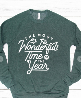 The Most Wonderful Time of the Year Sweatshirt