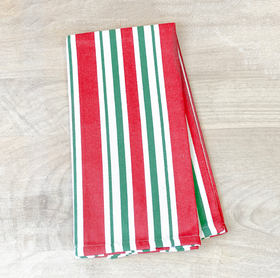 Yule Stripe Hand Towel