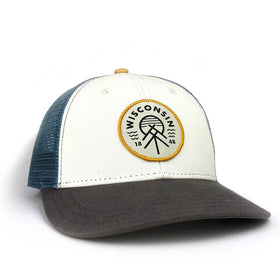 The Wisconsin Native Good Vibe Mesh Trucker Hat