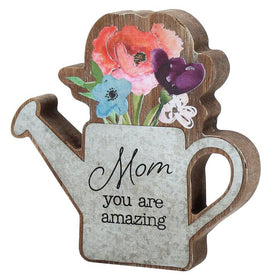 Mom Watering Can Cutout