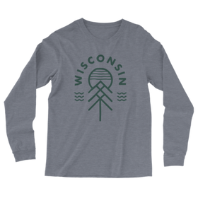 The Wisconsin Native Vintage Knit Long Sleeve Tee