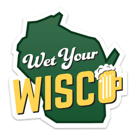 Wet Your WISCO Sticker