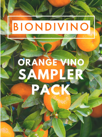 Orange Vino Sampler Pack - 6 pack