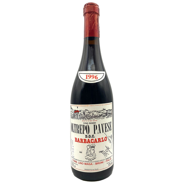 Barbacarlo Oltrepo Pavese Rosso 1996