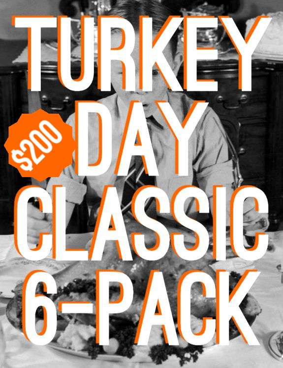 Turkey Day Classic 6-Pack