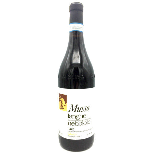 Musso Langhe Nebbiolo 2015
