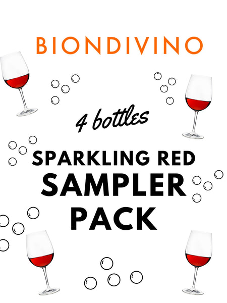 Sparkling Red Sampler Pack - 4 pack