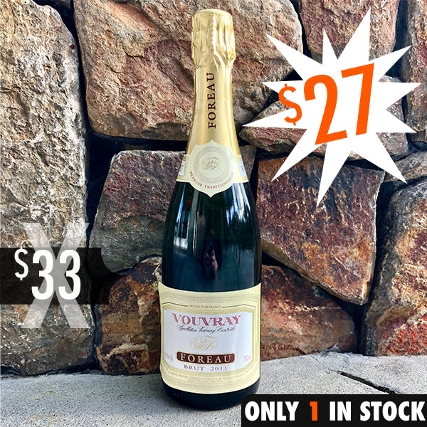 Foreau Vouvray Brut Methode Traditionelle Cuvee 2011 Clos Naudin