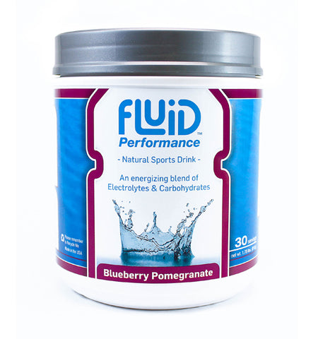 Fluid Performance, Blueberry Pomegranate, Original packaging