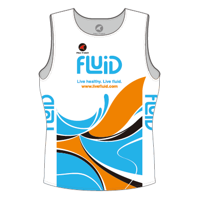 Men's Mako Tri Top White