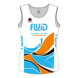 Women's Mako Tri Top White