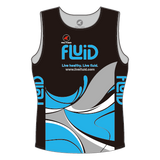Men's Mako Tri Top Black