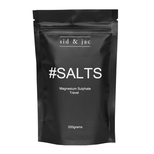 #SALTS 200g - Premium Natural EPSOM SALTS