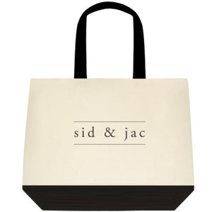 """Sid & Jac' environmentally friendly tote bag"