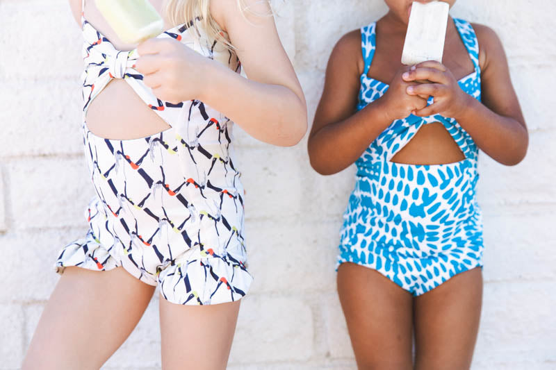 Crew and Lu, Kids Swimwear
