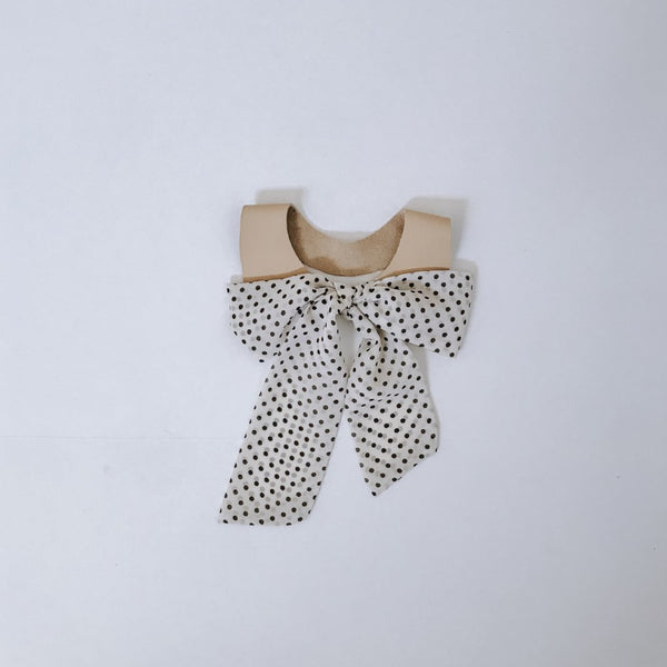 Polka Dot Bow Tie Collar