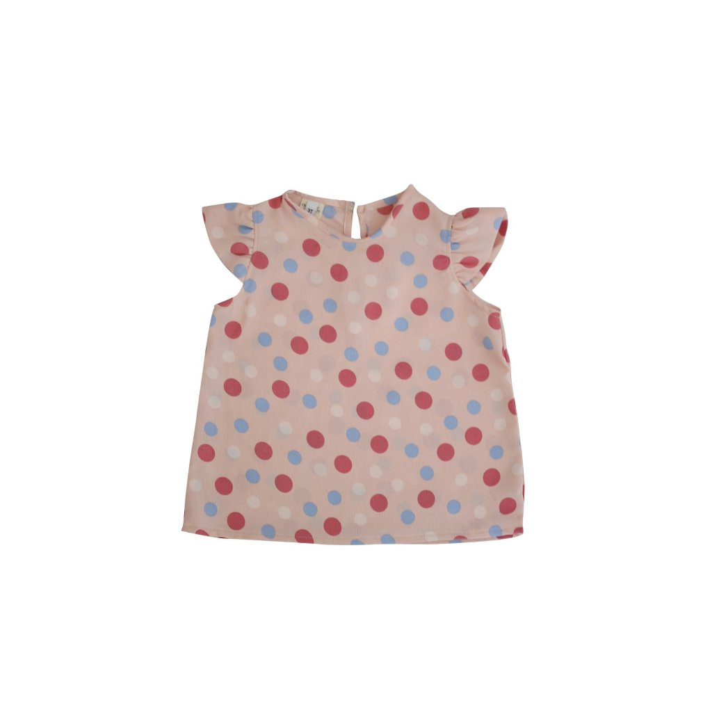 Pink Dottie Top