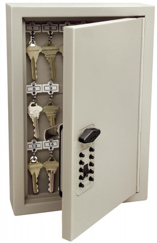 Medium size steel Key Cabinet, Kidde