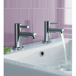 Avon Basin Taps (0.2 Bar) Chrome Finish
