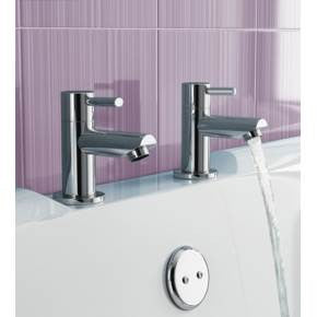 Avon Bath Taps (0.2 Bar) Chrome Finish