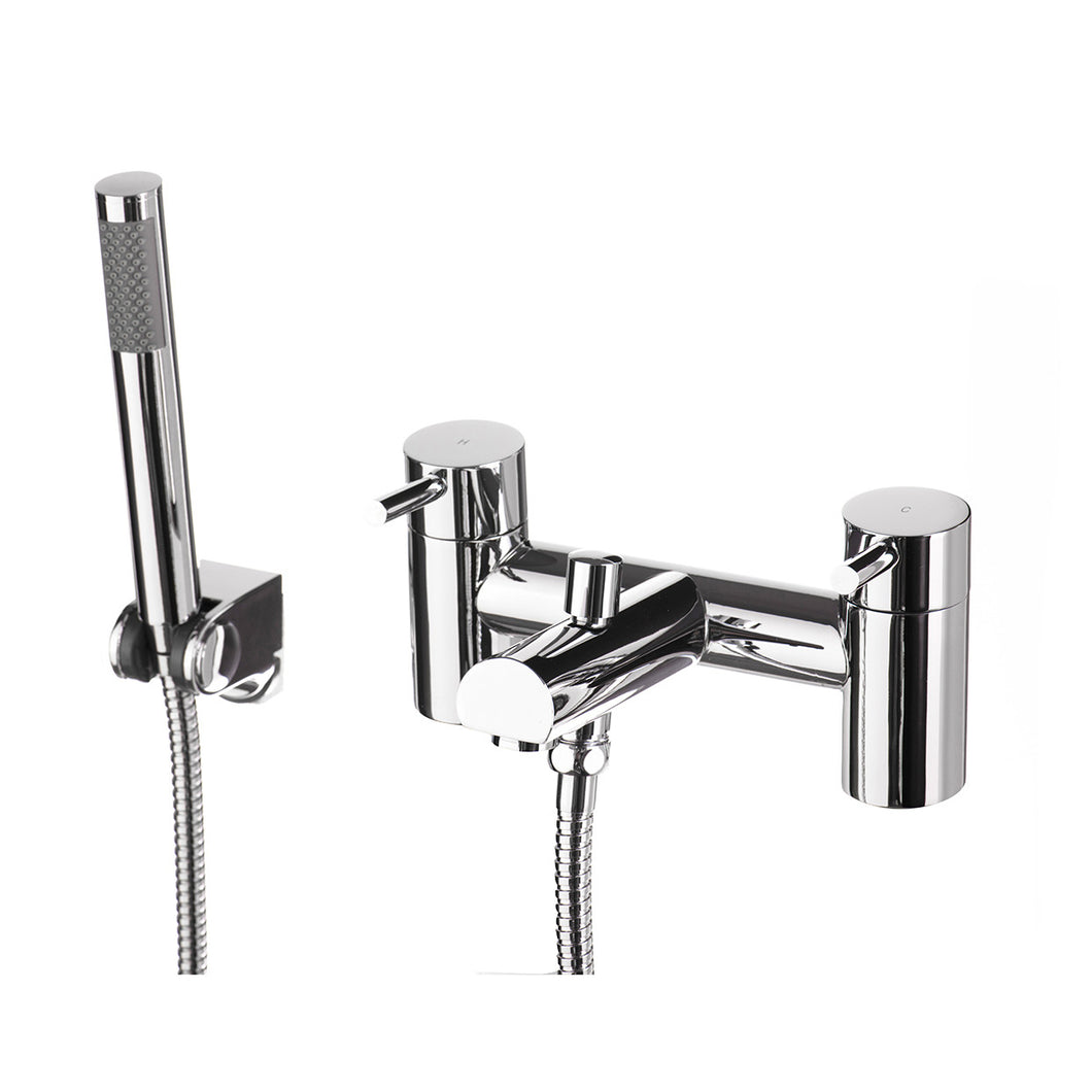 Avon Bath Shower Mixer & Handset (0.5 Bar) Chrome Finish