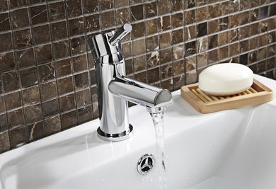 Avon Basin Mono Tap with sprung waste
