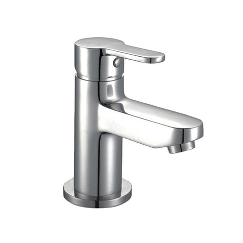 TWEED Basin Mono with sprung waste (0.2 Bar) Chrome Finish