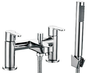 TWEED Bath Shower Mixer & Handset (0.5 Bar) Chrome Finish