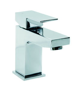 TYNE Basin Mono with sprung waste (0.2 Bar) Chrome Finish