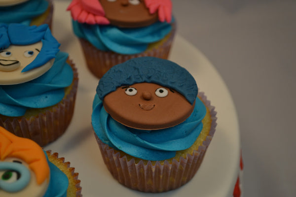 Lemon Bubble Guppies Cupcakes by Sugar Street Boutique Toronto