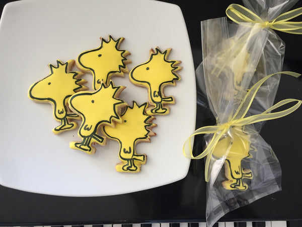 Woodstock Cookies by Sugar Street Boutique. Toronto. Snoopy Cookies. Loot bag cookies. Sugar cookies.