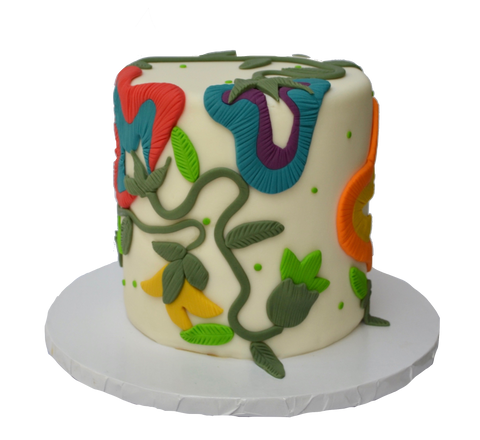 Artistic Cake. Art Cake. Abstract Cake. Sugar Street Boutique Toronto. Cakes Toronto. Flower Art cake. colourful cake. edible art. floral cake. floral art cake. artistic cake.