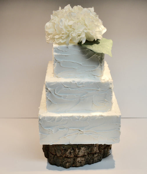 Rustic icing buttercream cake by Sugar Street Boutique Toronto perfect for weddings or birthdays.