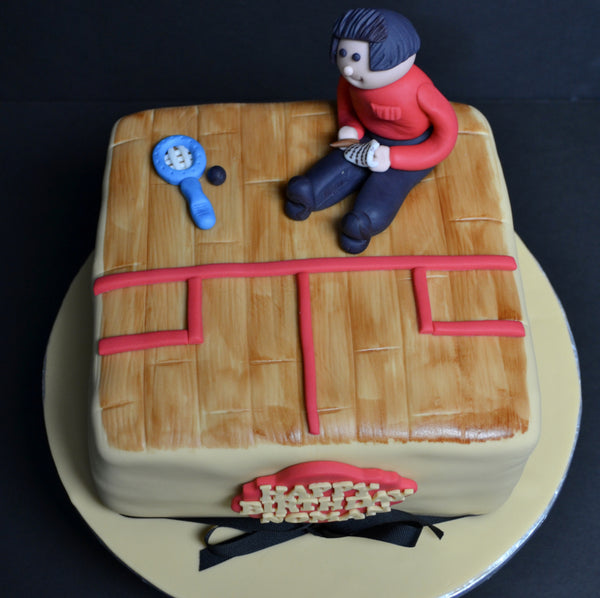 squash court referee cake by sugar street boutique toronto