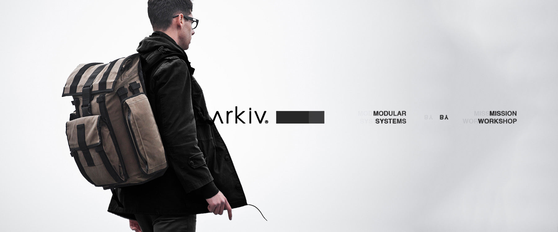 Arkiv Modular Systems - Build your bag. Give your bag the freedom to evolve