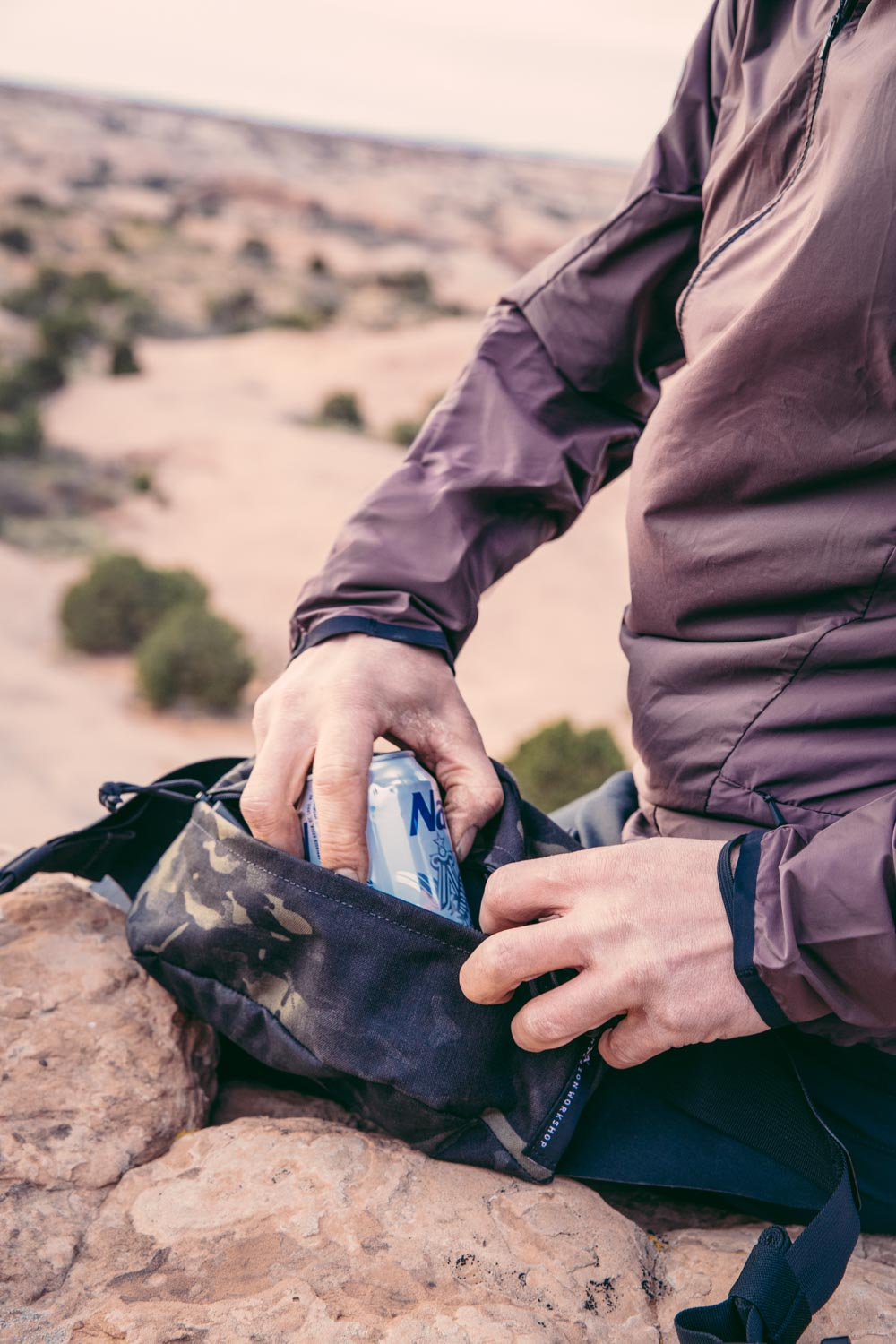 Field Test by Mission Workshop with James Adamson and the Axis Modular Waist Pack