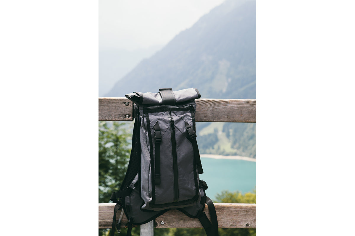 Mission Workshop Field Test : Decompression in Swiss Alps ft John Watson, Scott Turner, and Dickon Hepworth. Products include The Hauser and the Traverse Shorts.
