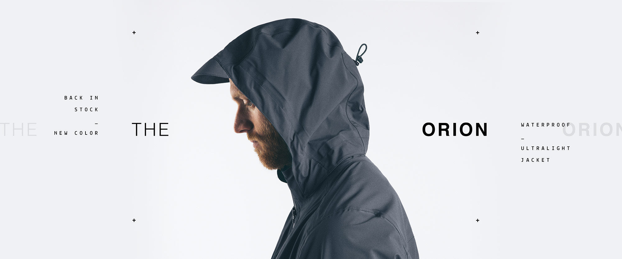 The Mission Workshop The Orion Waterproof Ultralight Jacket