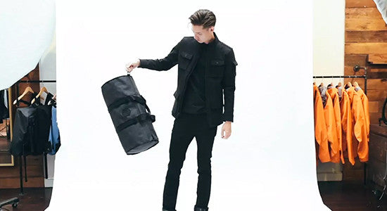 The Silo 36L Weekender Duffle by Mission Workshop