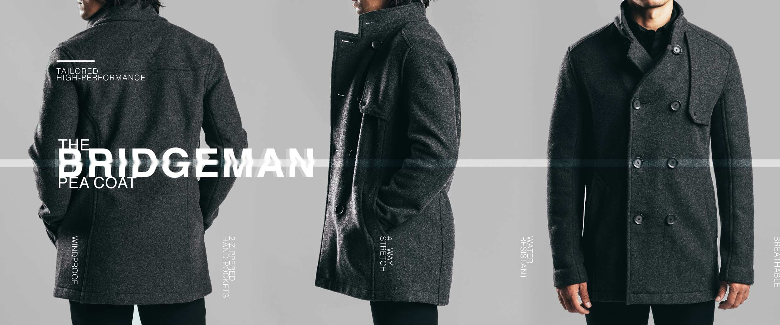 Bridgeman Pea Coat