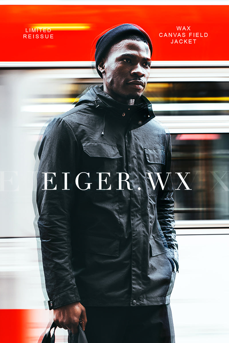 The Eiger Waxed Canvas Field Coat