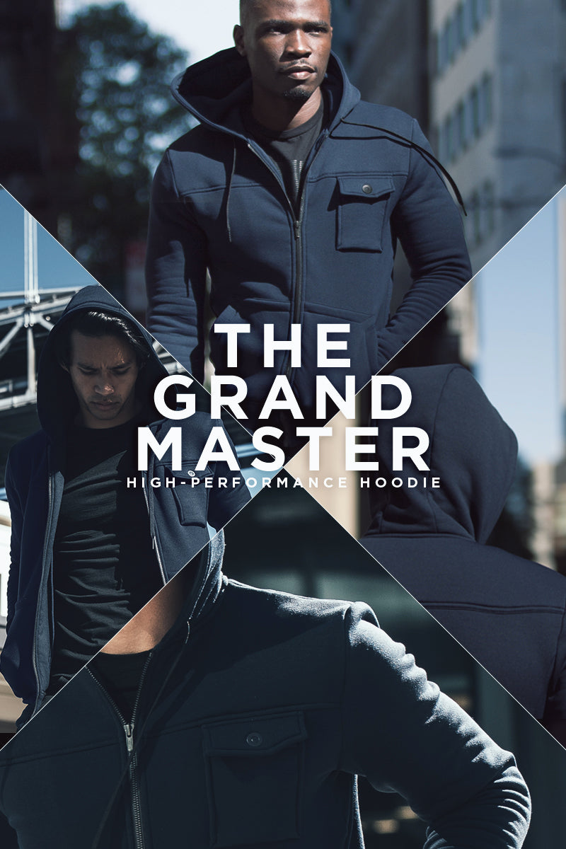 The Mission Workshop Grandmaster High Performance Tailored Hoodie