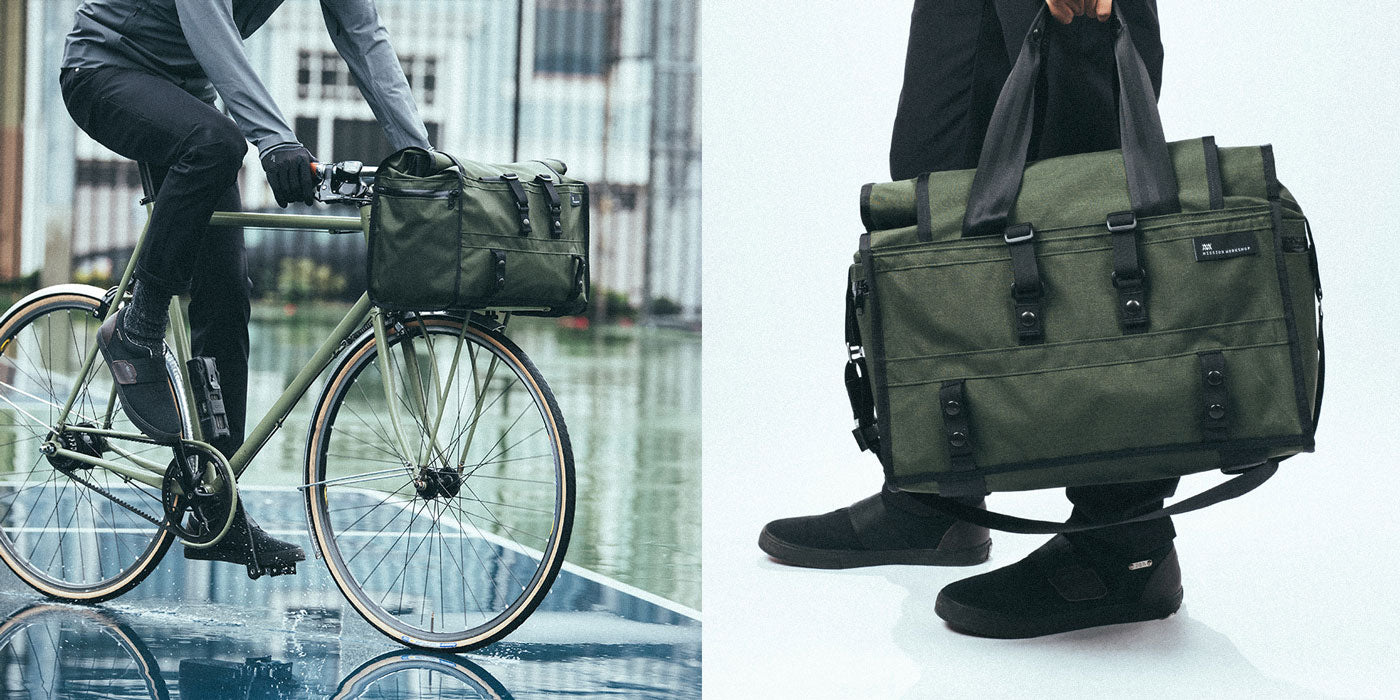 The Helmsman Rolltop Duffle by Mission Workshop