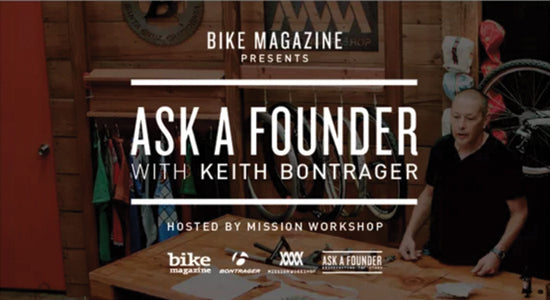 Mission Workshop Video: Ask A Founder with Keith Bontrager
