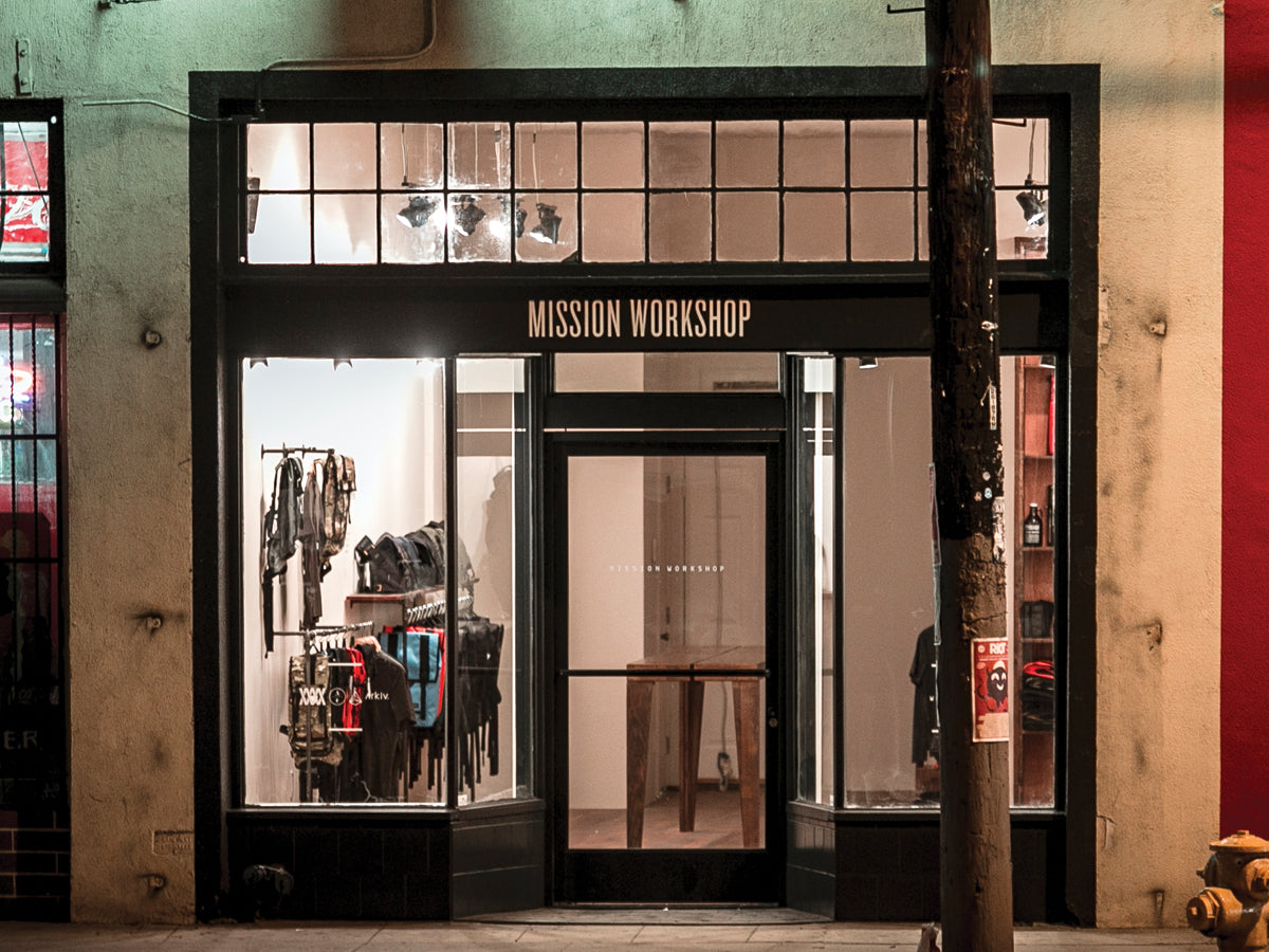 MISSION WORKSHOP LOS ANGELES STORE