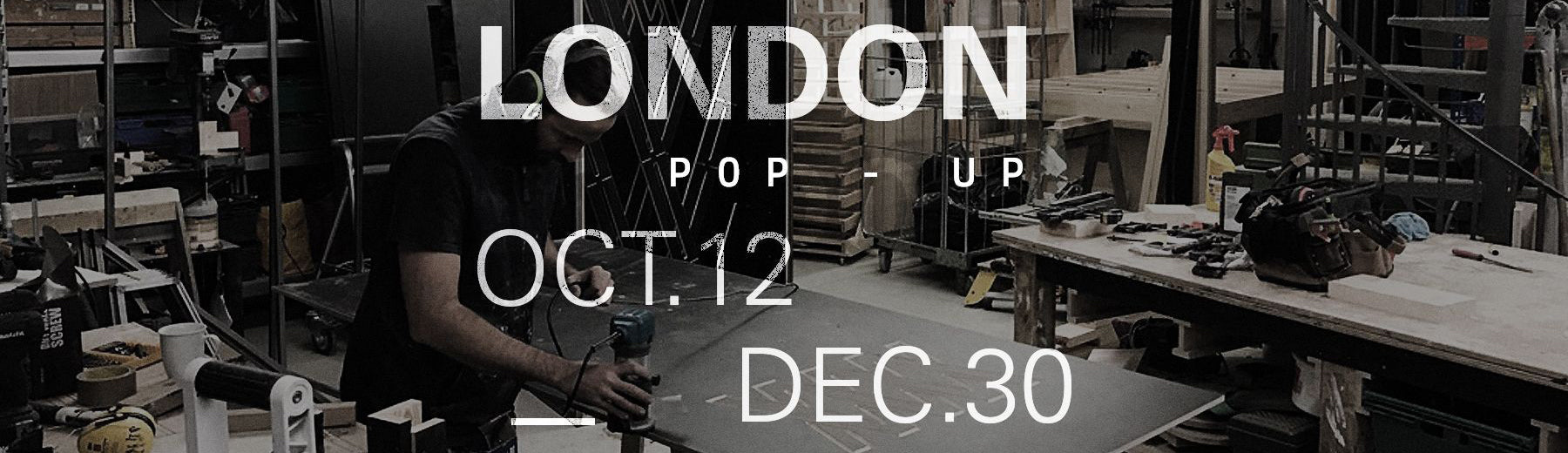 MISSION WORKSHOP London pop-up 2017
