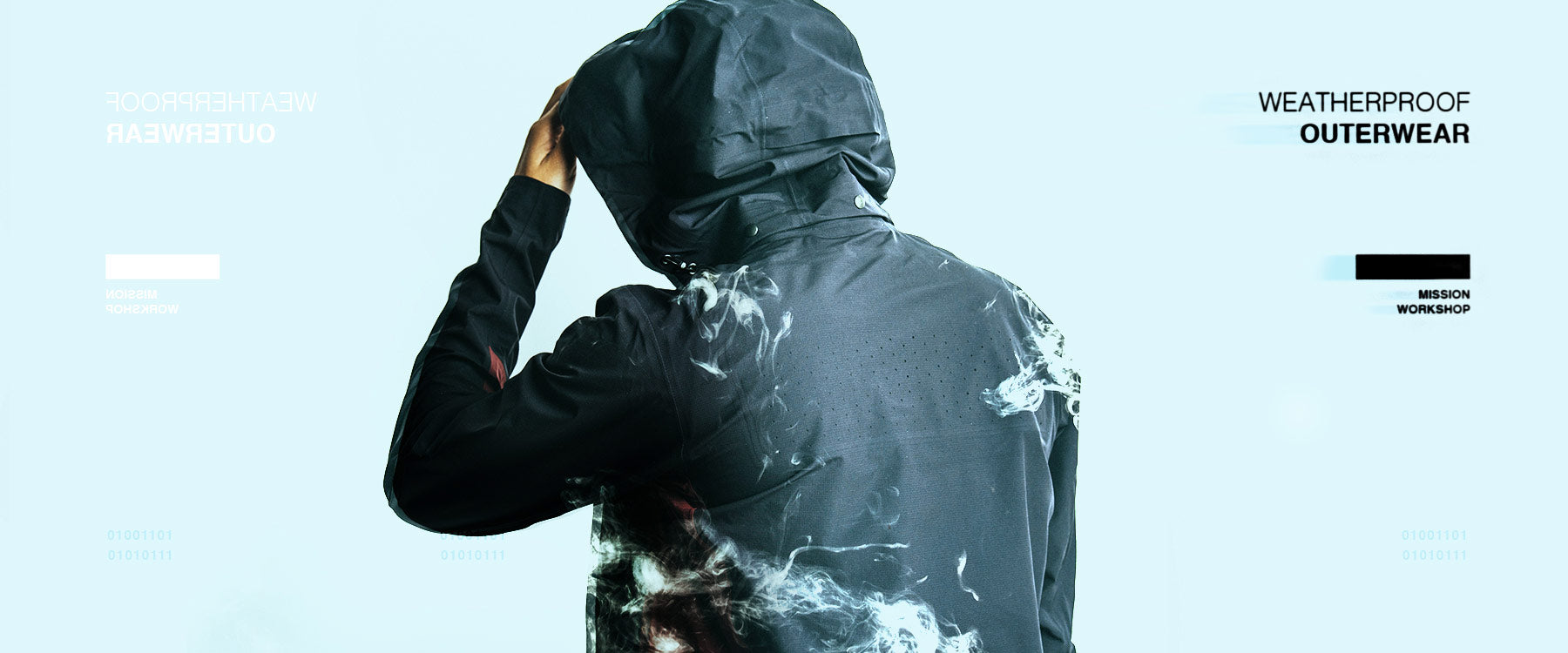 Weatherproof and Water-resistant Jackets, coats, and outerwear by Mission Workshop