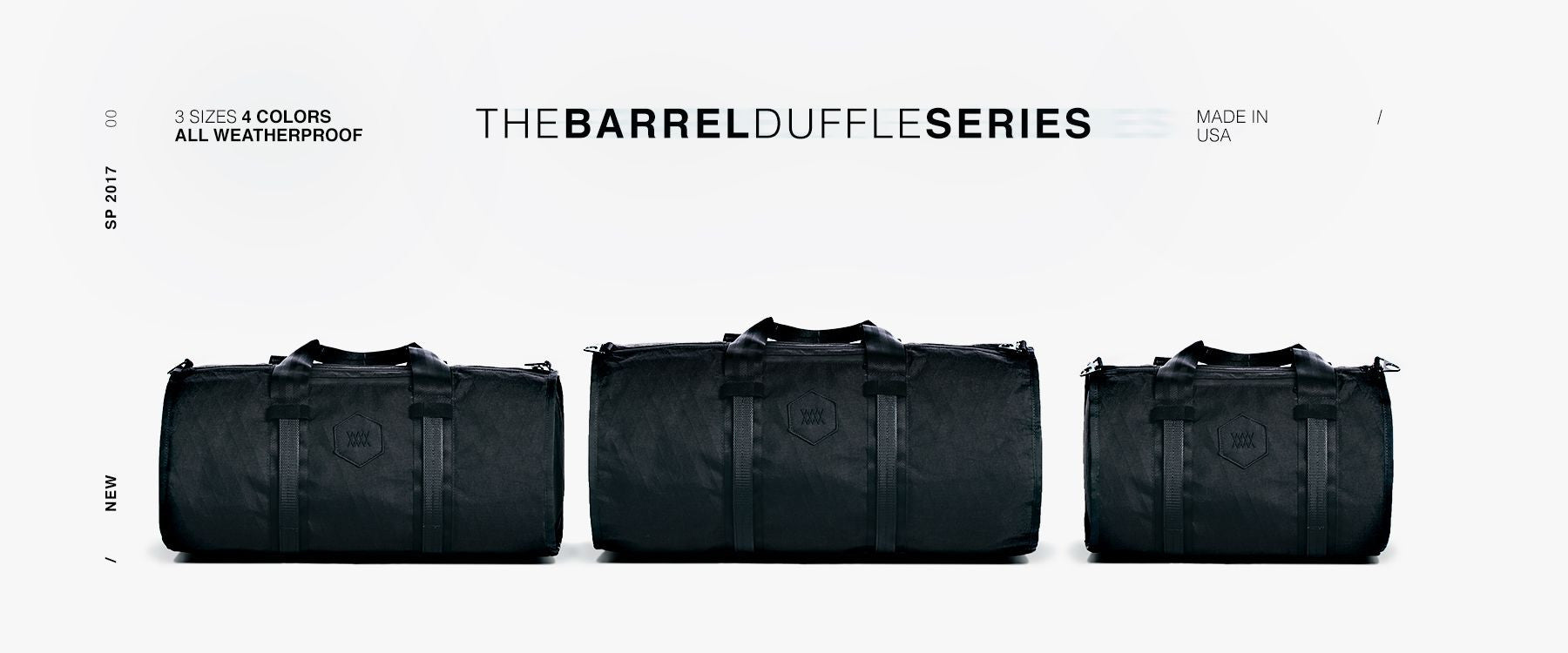 The Mission Workshop Barrel Duffle Series